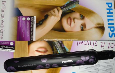 Philips SalonStraight Active Ion HP8310 Hair Straightener Review