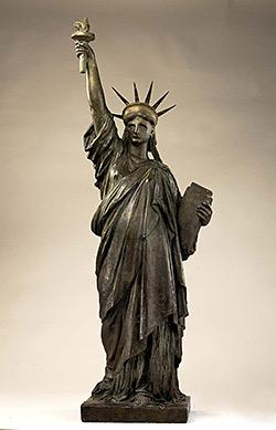 Model for the Statue of Liberty