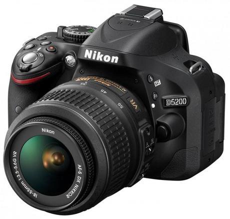 nikon d5200 670x639 Nikon D5200 Announced