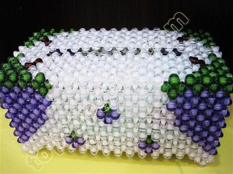 5 tips for how to make a beaded tissue box