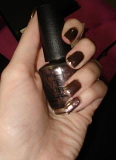 OPI Skyfall Collection: The World Is Not Enough