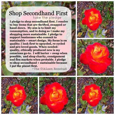 Walk the Walk: Shop Secondhand First