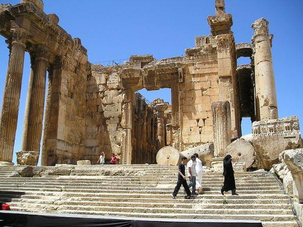 Baalbek, the Ancient Temple in Lebanon