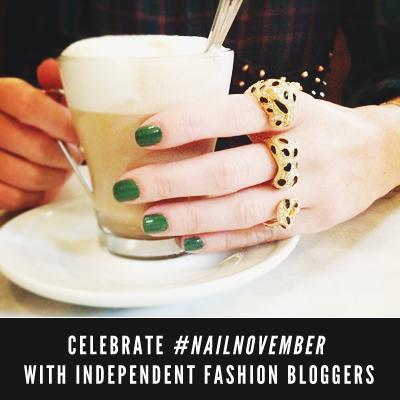 LG FEATURE - Independent Fashion Bloggers #NailNovember