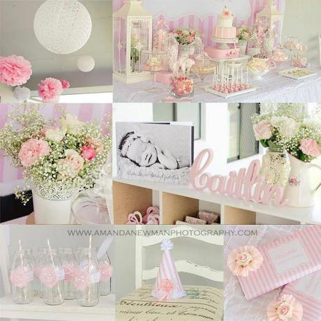Beautiful Pink 1st Birthday Party by Celebrating Parties