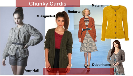 Fashion for frosty mornings: Layering with chunky cardis