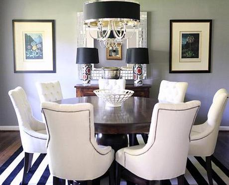 decor small room color11 Dark Colors in Small Spaces HomeSpirations