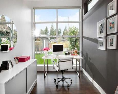 decor small room color12 Dark Colors in Small Spaces HomeSpirations