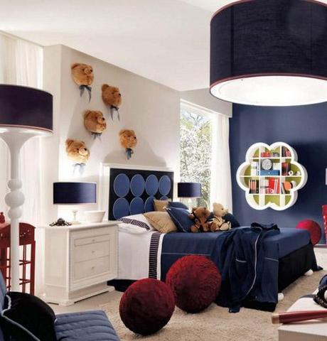decor small room color9 Dark Colors in Small Spaces HomeSpirations