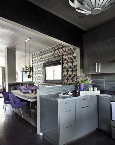 decor small room color10 Dark Colors in Small Spaces HomeSpirations