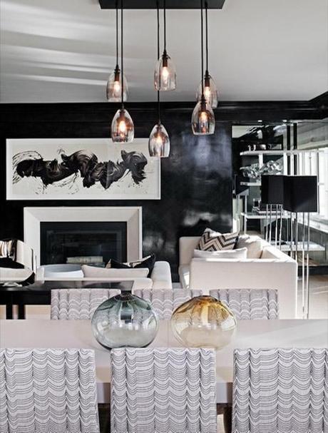 decor small room color13 Dark Colors in Small Spaces HomeSpirations