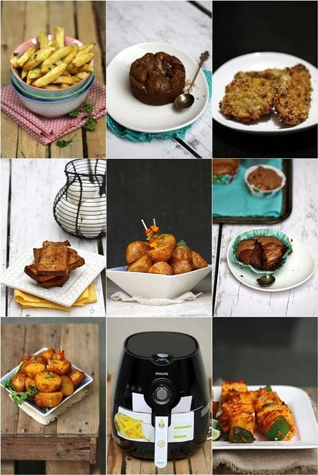 cooking with hot air fryer healthier