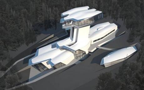 Zaha Hadid Designs Naomi Campbellu0027s Future House