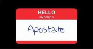 Who You Callin' Apostate?