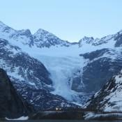 Worthington Glacier in Valdez AK