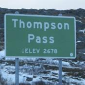 Entering Thompson Pass to Valdez AK