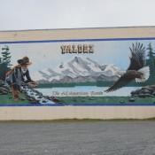 Wall art in Valdez AK