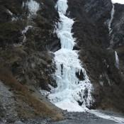 Bridal Falls in Valdez Alaska
