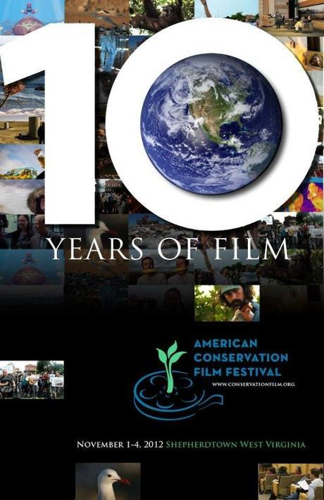We've had a lovely afternoon and evening at the  American Conservation Film Festival.