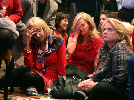 A Tumblr dedicated to White People Mourning Romney