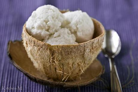 Fresh Coconut Ice Cream