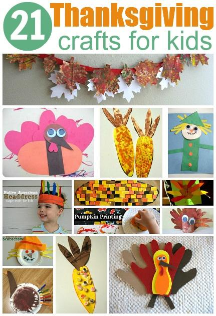 Easy Toddler Thanksgiving Craft Ideas