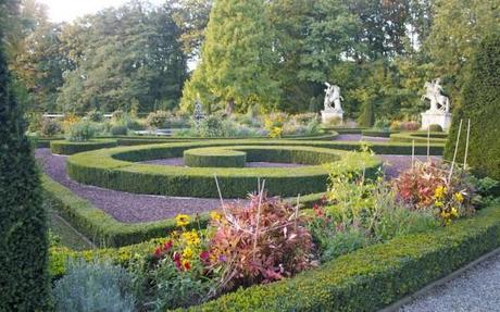 historic gardens in our Castle Hotel in Germany