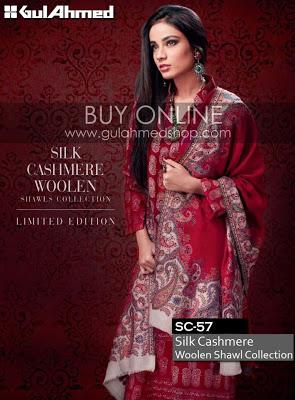 Gul Ahmed Winter Collection 2012