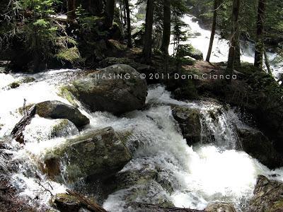 2011 - July 20th - Family Vacation Day 2 - Cascade Falls, Rocky Mountain National Park