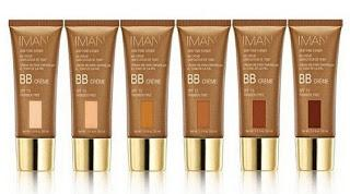 IMAN Launches BB Creams for WOC