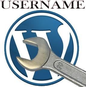 changing your wordpress username