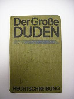 Learn languages. German dictionary (Der Große Duden)