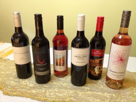 My selection from Wine Selectors