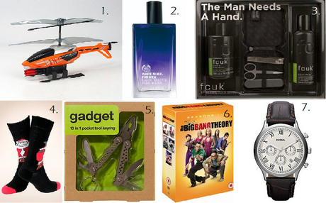 Christmas Gift Guide - The Men.