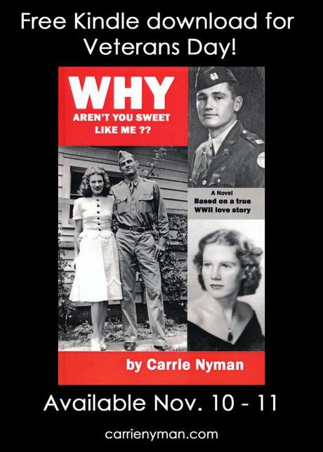 My WWII novel is FREE for Veteran's Day