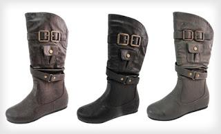 Daily Deal: Vegan Faux-Leather Children's Boots