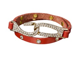 target crystal coral bracelet fashion blog covet her closet celebrity how to promo code deal sale