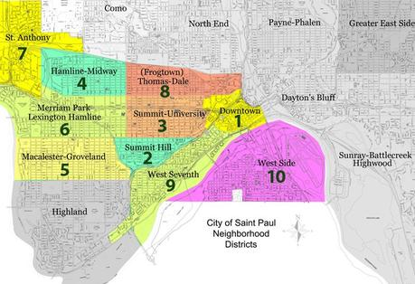 St paul neighborhoods - top 10