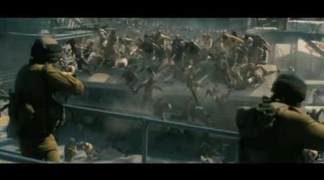 World War Z trailer - Badass Brad Pitt Fights Against Zombies