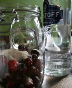 how to make cranberry vodka