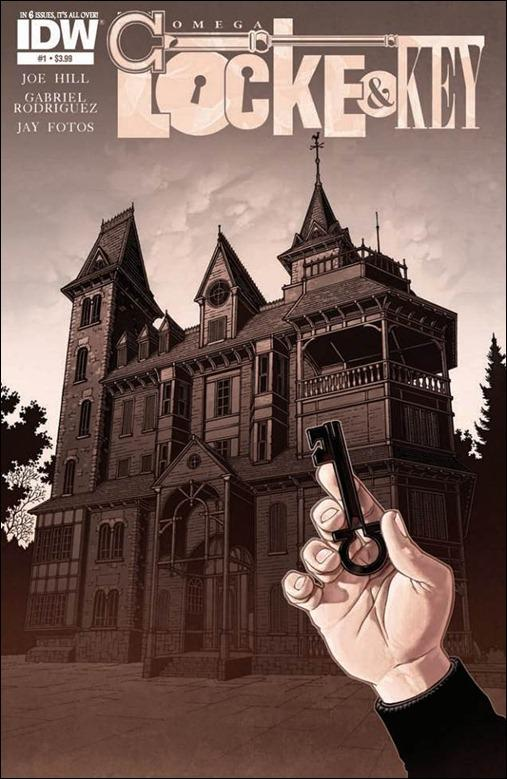 Locke & Key: Omega #1 Cover