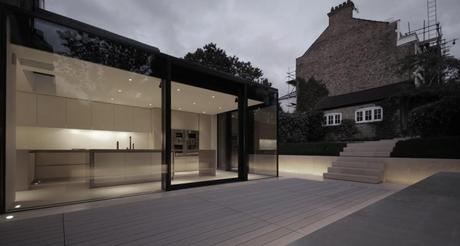 Rear House Extension & Garden Design by LBMV Architects