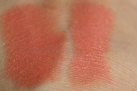 Swatches: Revlon: Revlon Super Lustrous Lipstick 013 Matte Smoked Peach