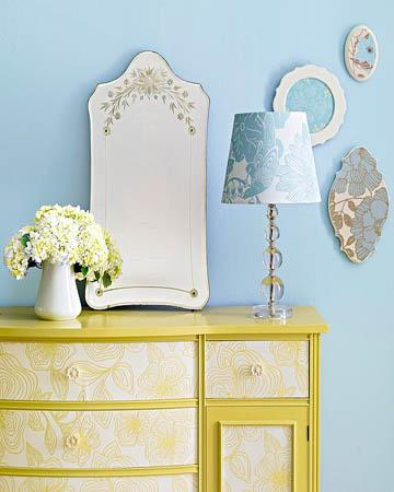 decor decoupage5 Decorating Spotlight: Decoupage HomeSpirations