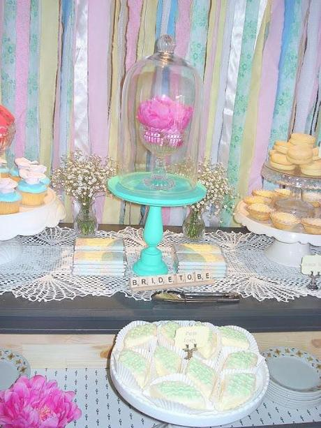 a vintage pastel bridal shower by sweet nectar