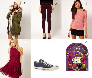 Wish List - ASOS edition.