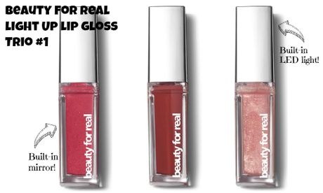 Light Up Your Lips With Beauty For Real's Get Gorgeous Gloss Trios!
