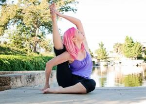 Orange County Yoga Challenges on the Clever Blog