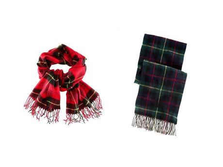 Trend Alert - The plaid scarf