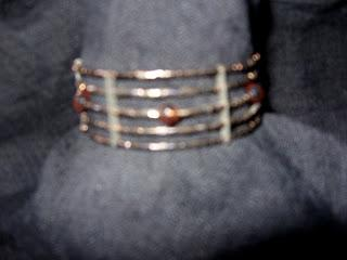 Bracelets with memory wire